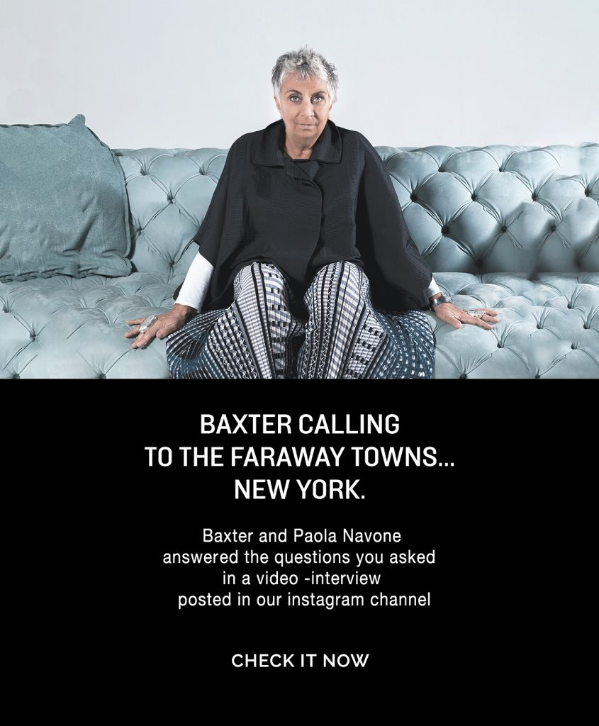 Events Baxter & Paola Navone Interview