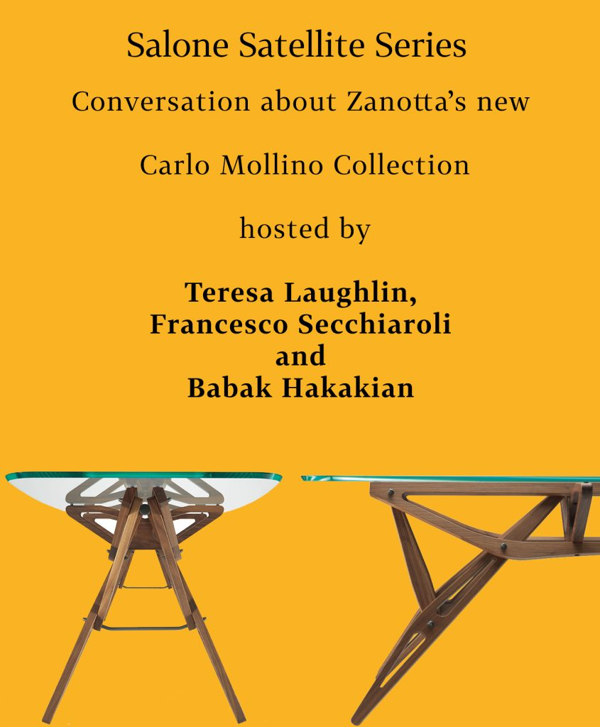 Events Conversation about Carlo Mollino Collection | Zanotta