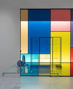 Sherazade Sliding Patchwork Door | Paolo Lissoni design Winner