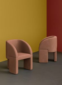 Lazybones chairs as displayed for the Elle Deco Award 2020