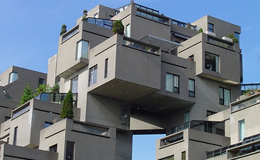Malouin draws inspiration from Montreal's brutalist architecture